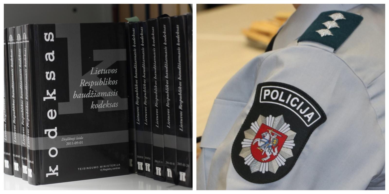 Į nusikalstamą susivienijimą susibūrę buvę Šiaulių policininkai kalės nuo 7 iki 16 metų