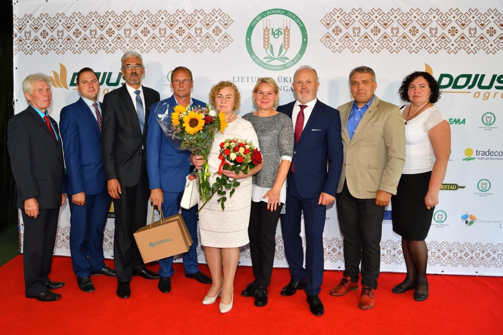 Lietuvos ūkininkų šventėje apsilankė Skuodo krašto atstovai