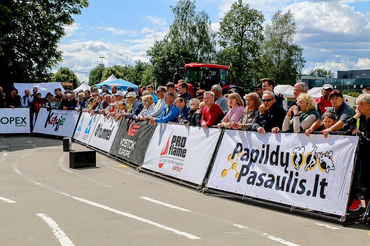STIHL Baltijos galiūnų čempionate Radviliškyje  – lietuvių galiūno pergalė