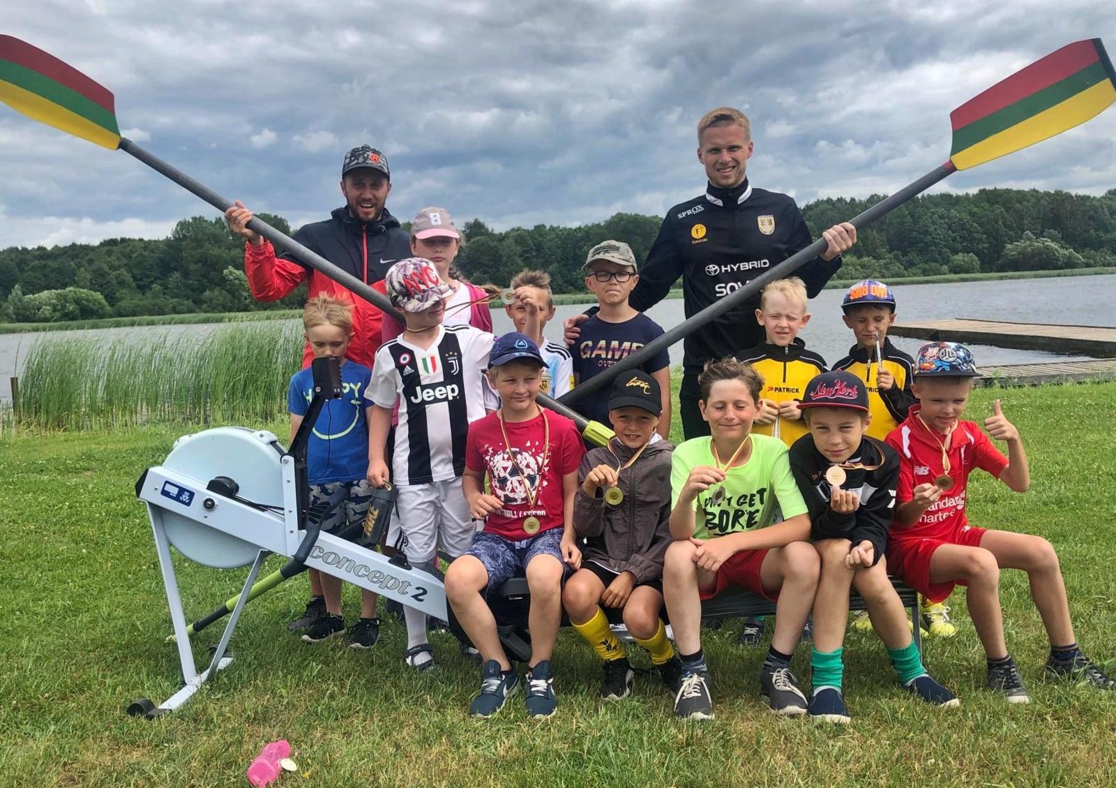 Vaikų dienos stovykloje – smagios veiklos
