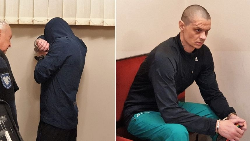 """Du kalinius nužudžiusio """"bachūro"""" pareiškimas: administracija leido man taip padaryti"""