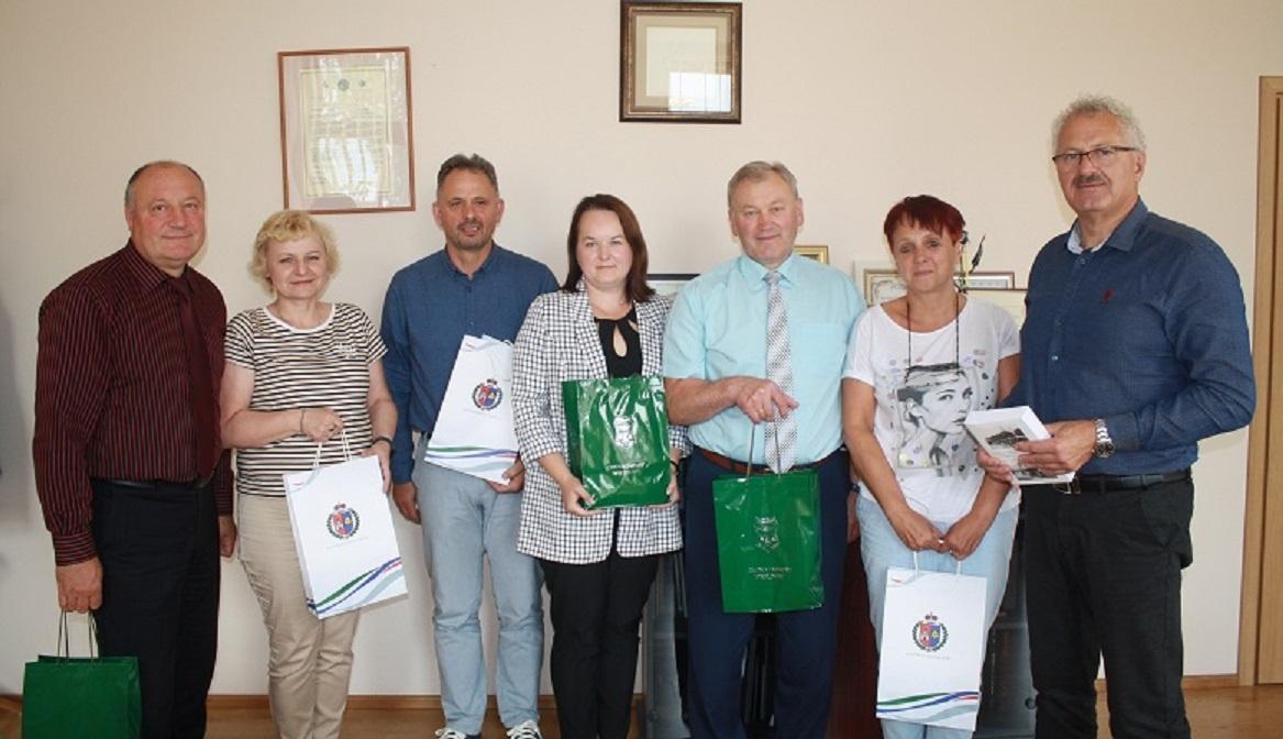 Kalvarijos savivaldybėje svečiavosi delegacija iš Lenkijoje esančio Venglineco valsčiaus