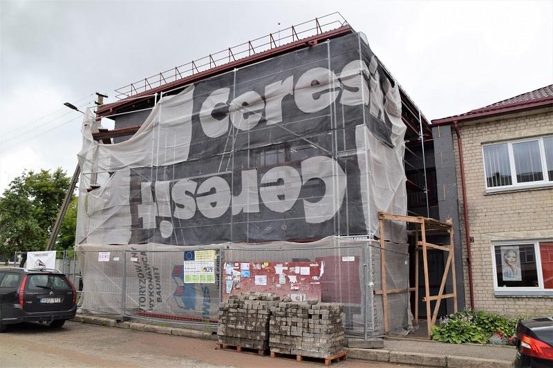 Stakliškių kultūros ir laisvalaikio centro kapitalinio remonto darbai vyksta sklandžiai