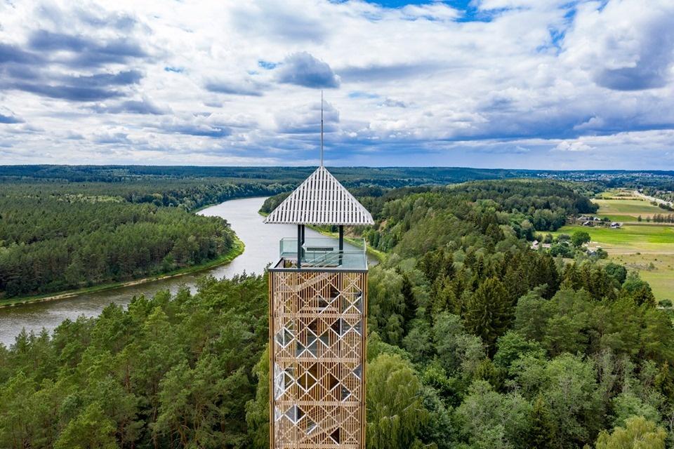Birštono apžvalgos bokštas liepos 12 dieną atveriamas lankytojams