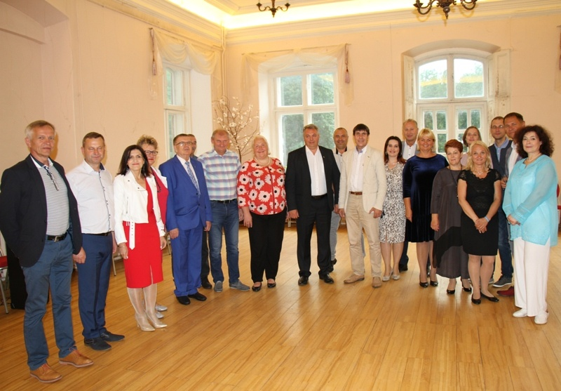 Pagėgių savivaldybės delegacijos vizitas Estijoje