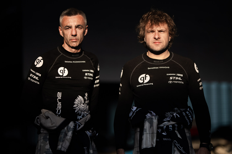 """B. Vanagas į """"Rally Estonia"""" trasas išvažiavo su sirenomis"""