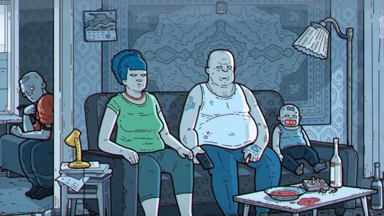 Spalvotasis Springfildas ir Simpsonai – visiškai kitaip: niūri garsiausios scenos versija kažkuo sužavėjo internautus (vaizdo įrašas)