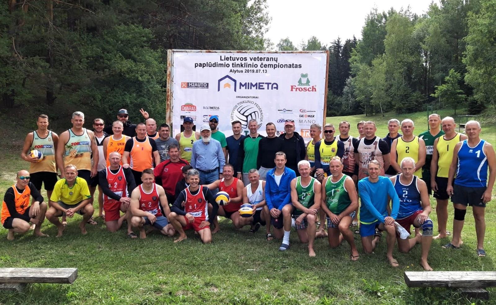 Lietuvos veteranų paplūdimio tinklinio čempionato III-etapas Alytuje