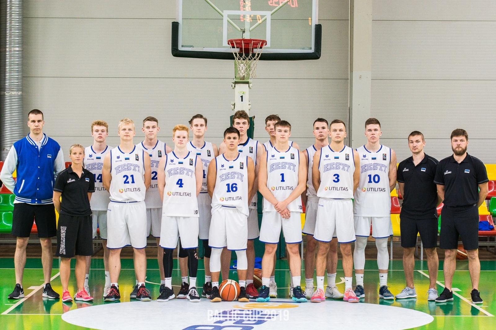 Jaunių krepšinio rinktinė Baltijos taurės turnyre iškovojo antrąją pergalę