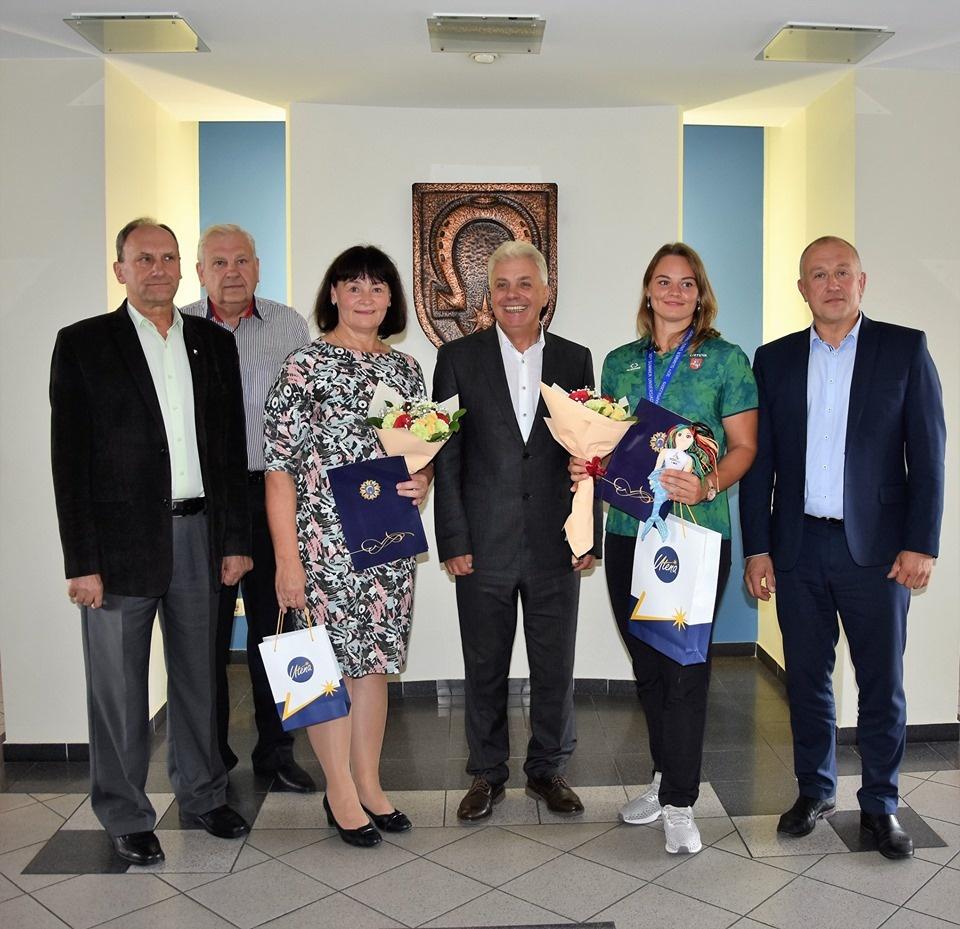 Universiados medalininkė Ieva Zarankaitė garsina Lietuvos vardą pasaulyje
