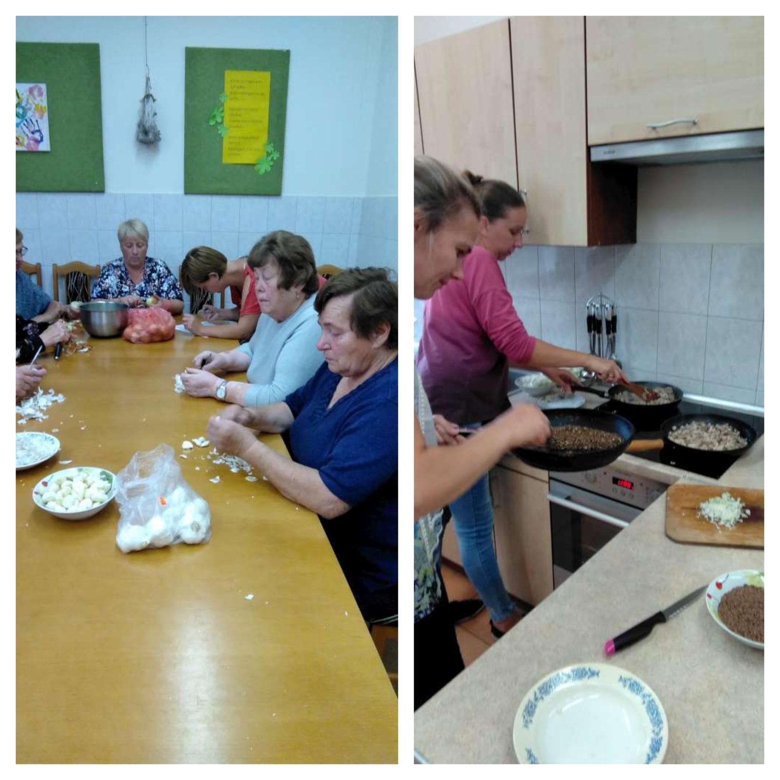 Labardžių bendruomenė ragavo žemaitiškus patiekalus