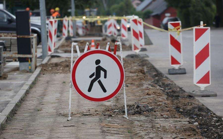 Vilniaus gatvė Ukmergėje pėstiesiems taps saugesnė