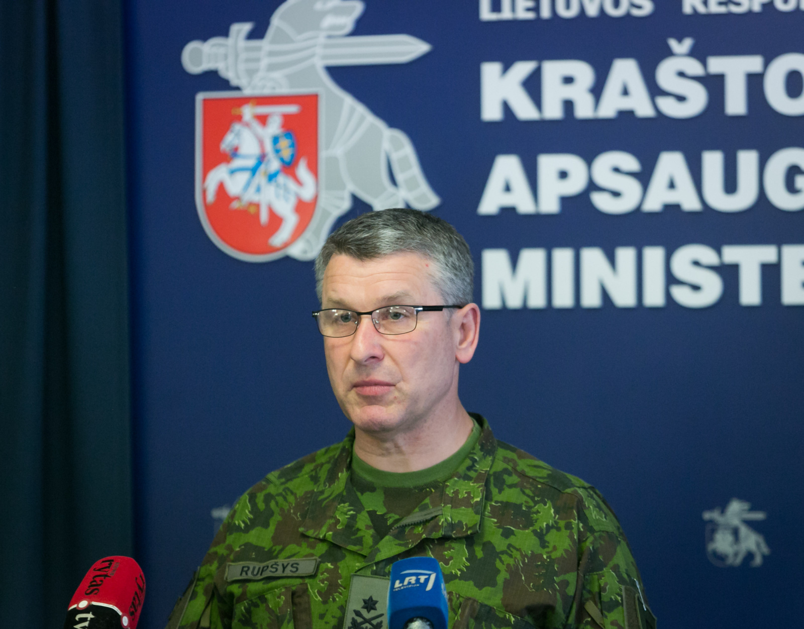 V. Rupšys paskirtas Lietuvos kariuomenės vadu
