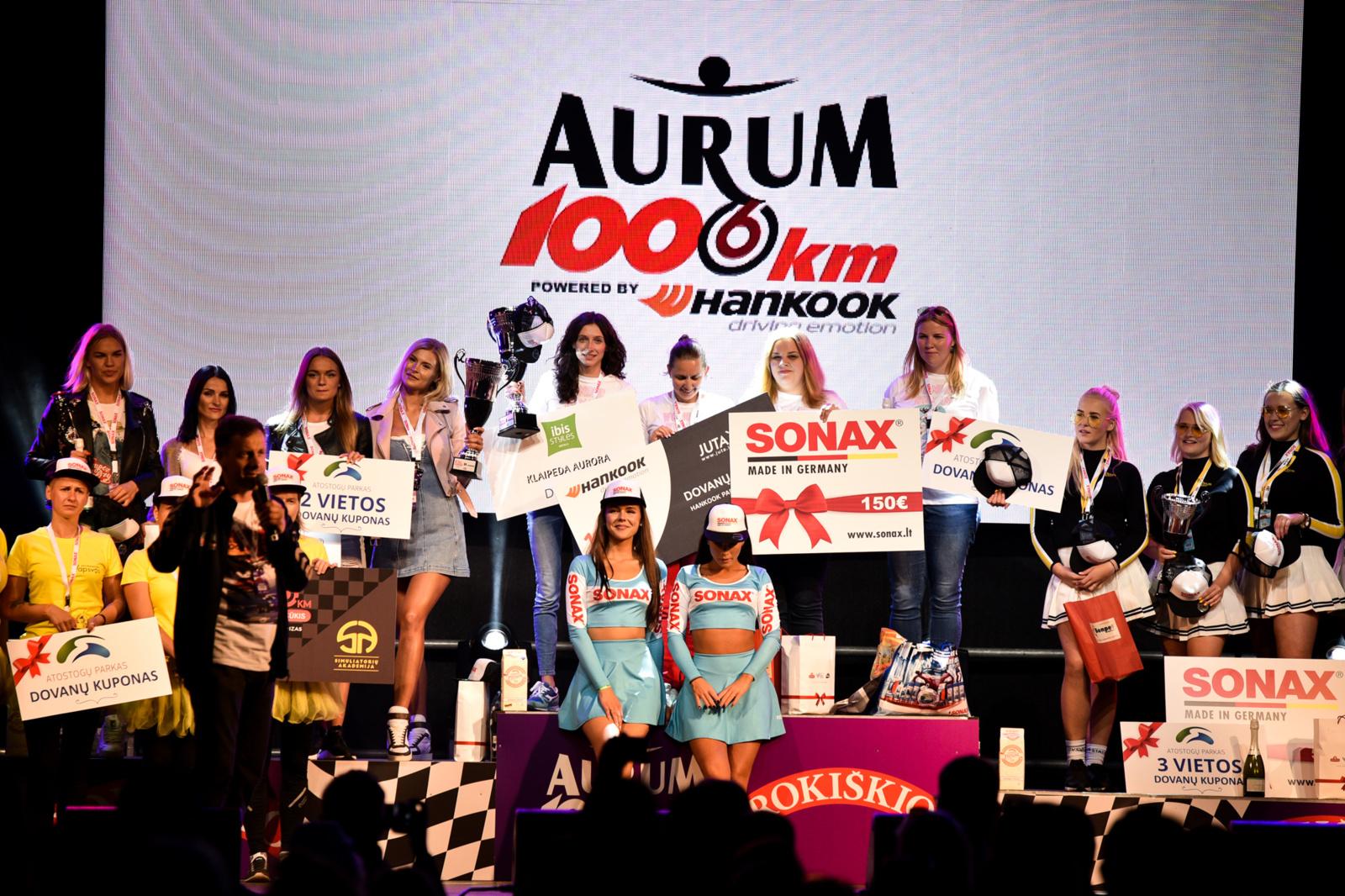 Tik moterims skirtas ralis sulaukė daugiau nei 300 dalyvių