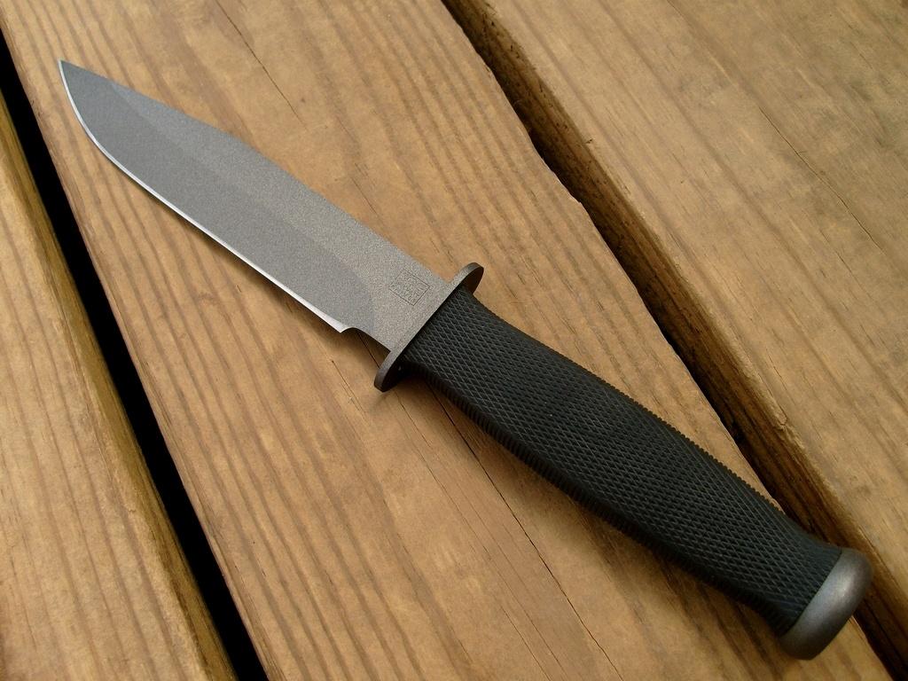 Klaipėdoje vyras užpultas peiliu