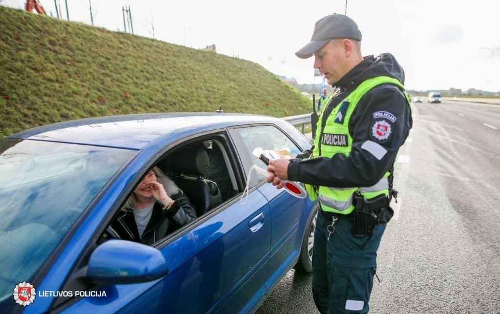 Trečiadienį Vilniuje ir rajone – 4 neblaivūs vairuotojai