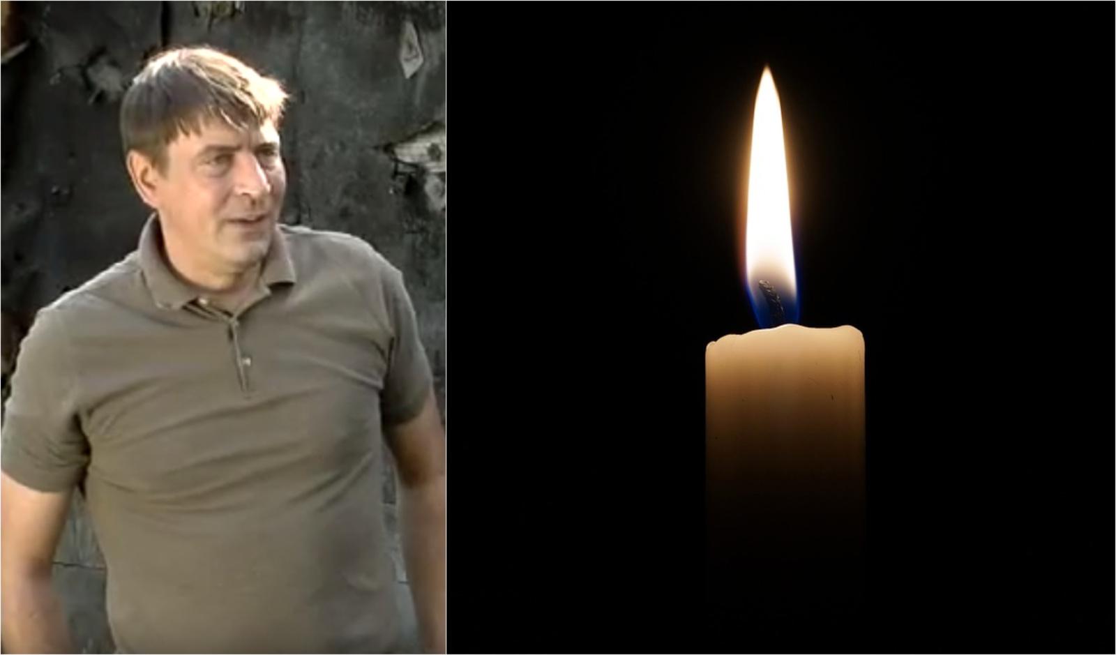 """Mirė """"Naisių vasaros"""" aktorius aktorius Almantas Vaišnys"""