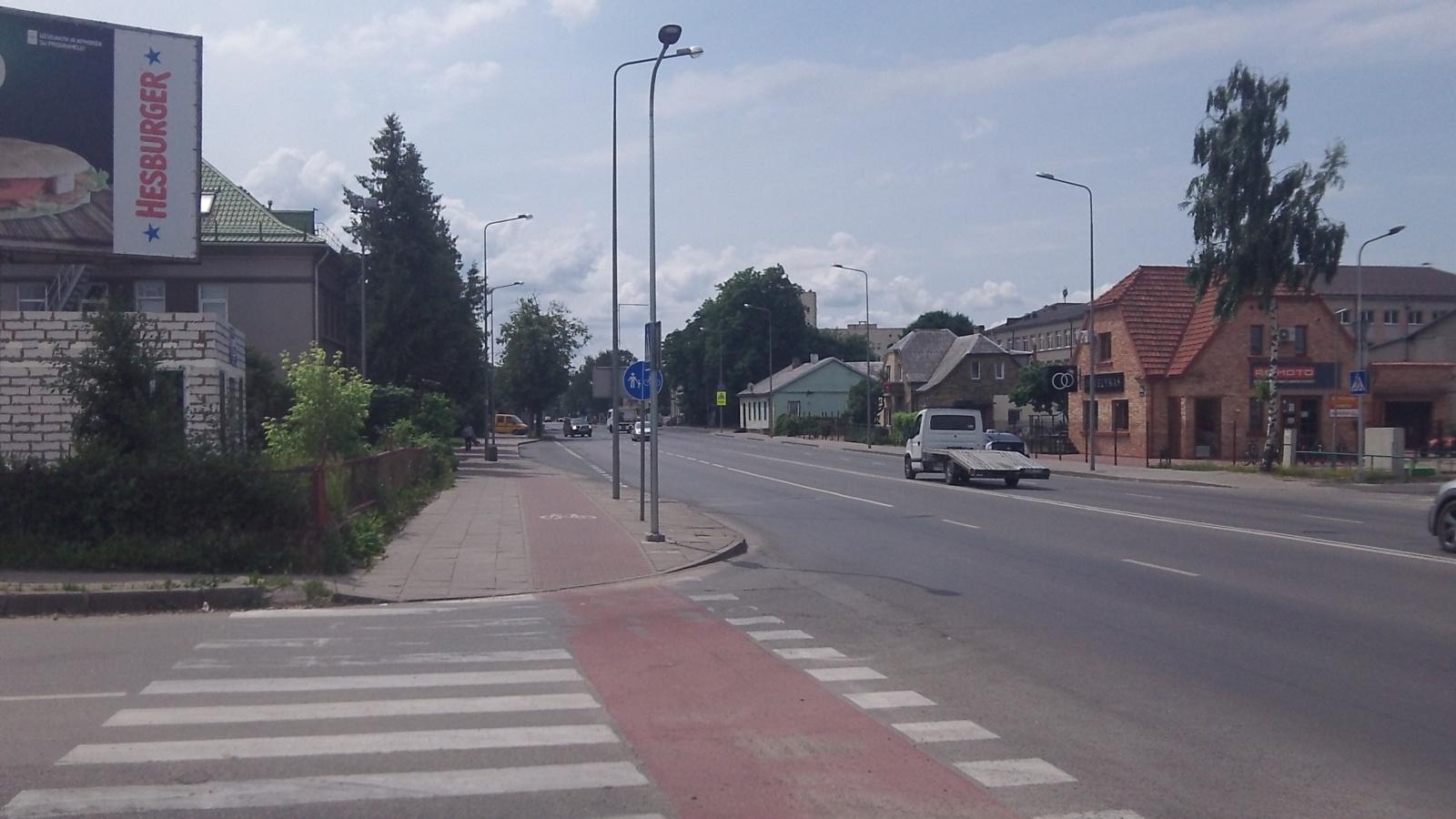 Keistas išradimas Šiaulių dviratininkams ir kitiems eismo dalyviams