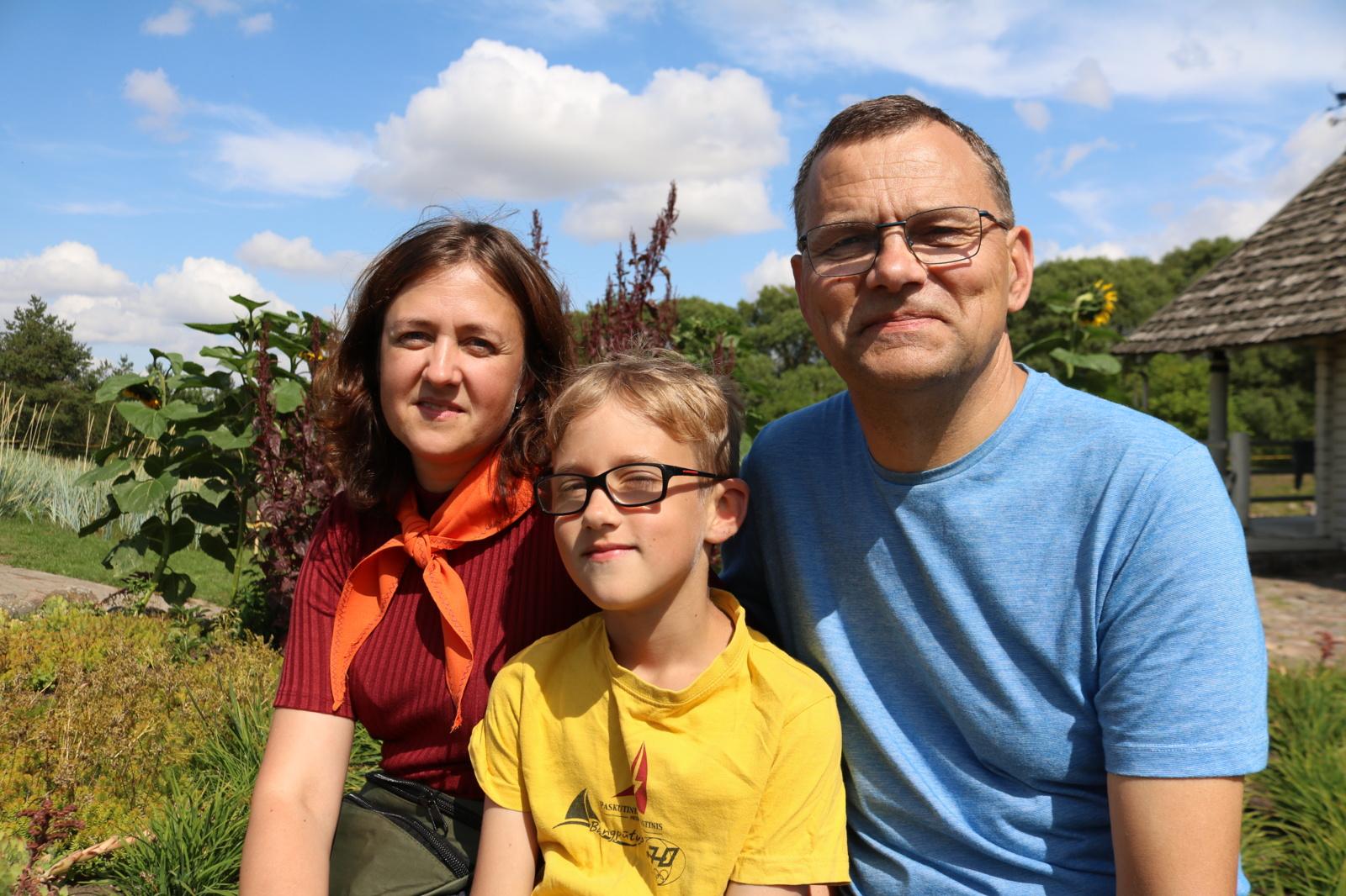 Šeimų vasaros stovykla: laikas sau ir Dievui