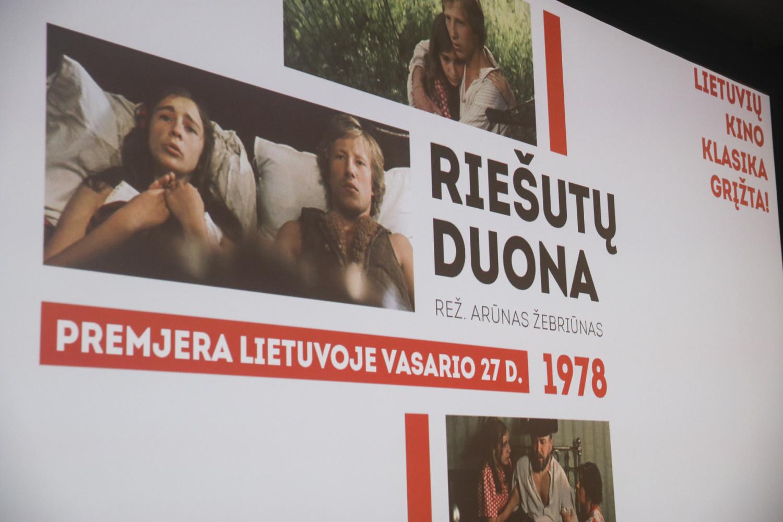 """Viso pasaulio lietuviams bus rodoma """"Riešutų duona"""""""