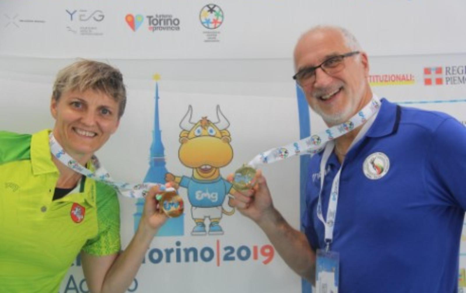 Alytaus plaukimo meistras – 2019 m. Europos meistrų žaidynių Turine čempionas