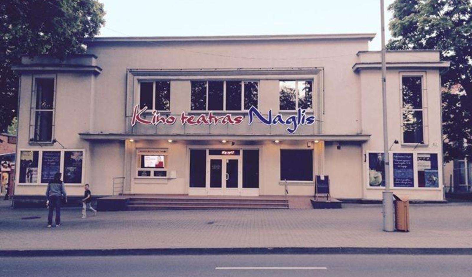 """Kultūrinei veiklai duris atvers kino teatras """"Naglis"""""""