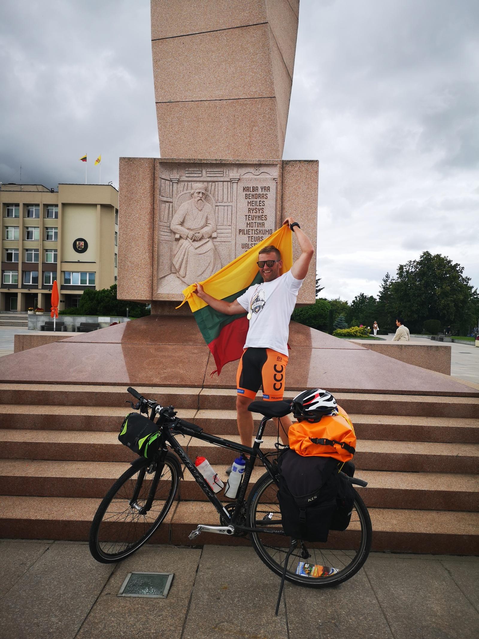 Dviračiu – aplink Baltijos šalis