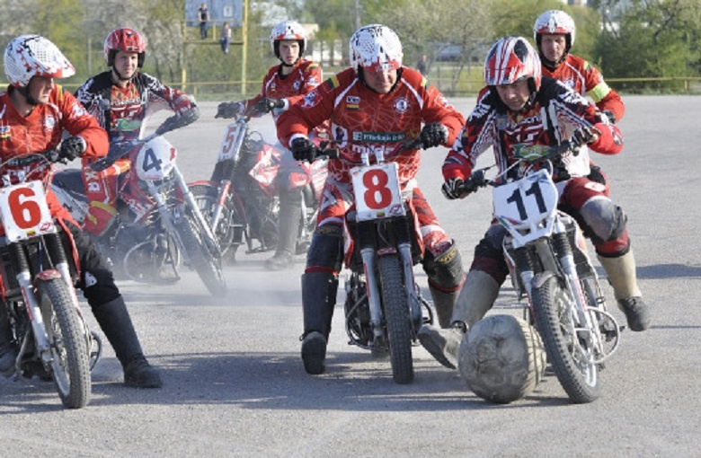 Kretingoje vyks motobolo rungtynės