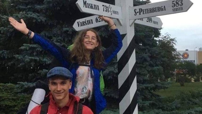 Jaunuoliai leidosi į nuotykį – 7000 km autostopu iki Baikalo ežero