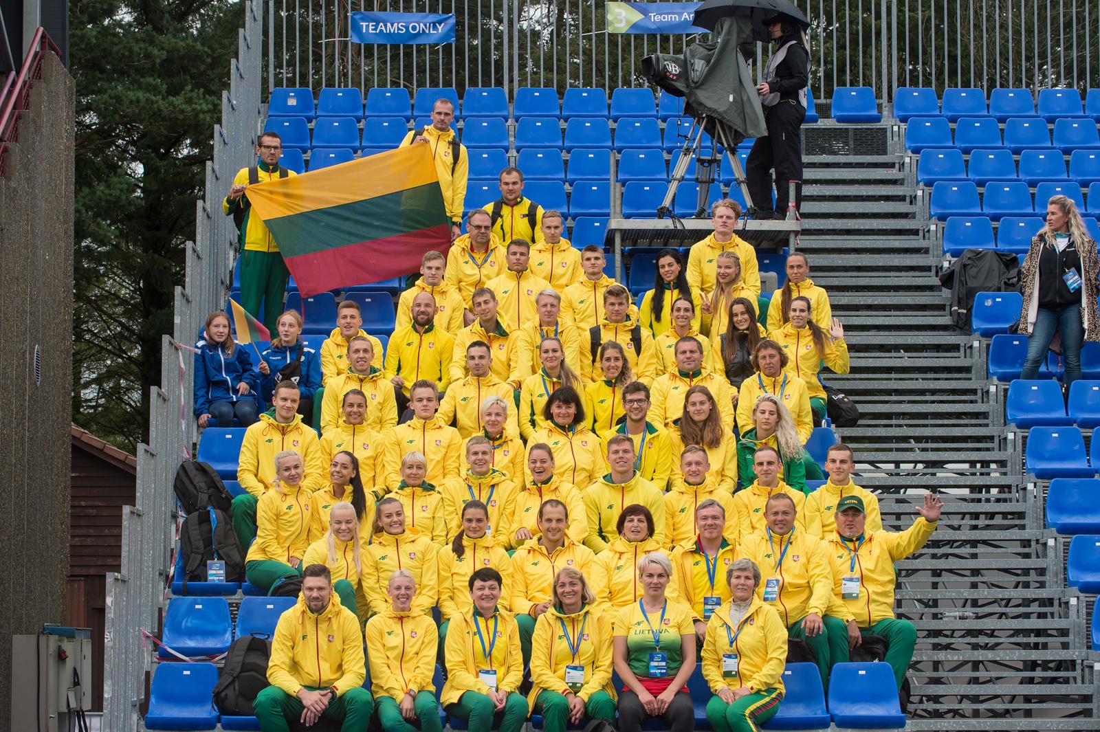 Komandinį lengvosios atletikos čempionatą lietuviai baigė E.Matusevičiaus pergale