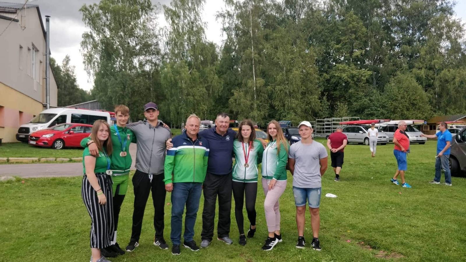 """2019 """"Baltic cup"""" baidarių ir kanojų regatos šiauliečių rezultatai"""