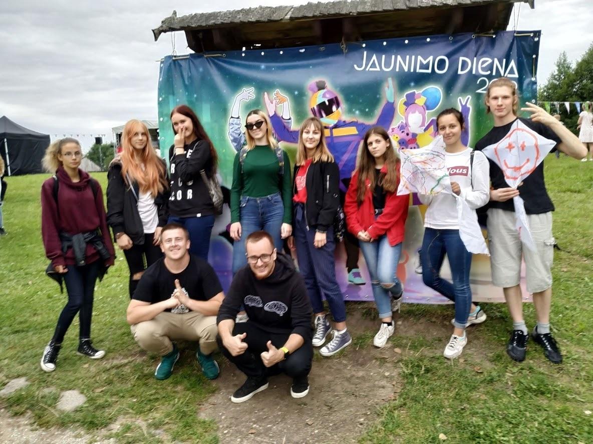 Druskininkų jaunimo atstovai Tarptautinės jaunimo dienos renginiuose