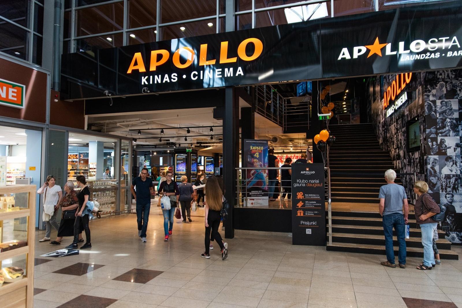 """Panevėžyje duris atvėrė pirmasis Estijos įmonių grupės valdomas kino teatras """"Apollo"""""""