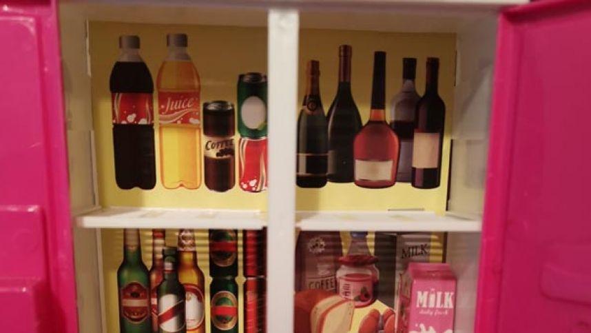 Žaislinio šaldytuvo turinys pribloškė tėvus: čia tikrai nejuokinga