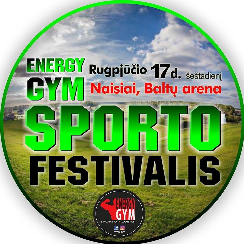 """""""Energy Gym"""" sporto festivalis - jau šį savaitgalį"""