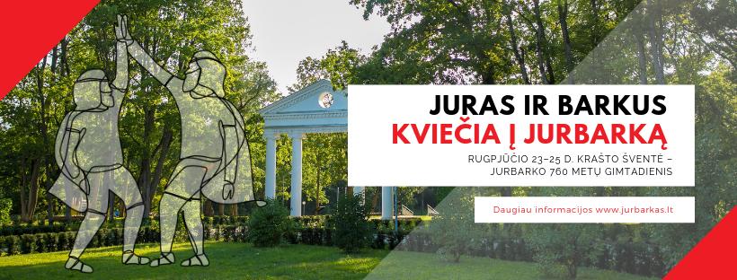 """Kviečiame į Jurbarko krašto šventę """"Jurbarko 760 metų gimtadienis"""" (programa ir naujienos)"""