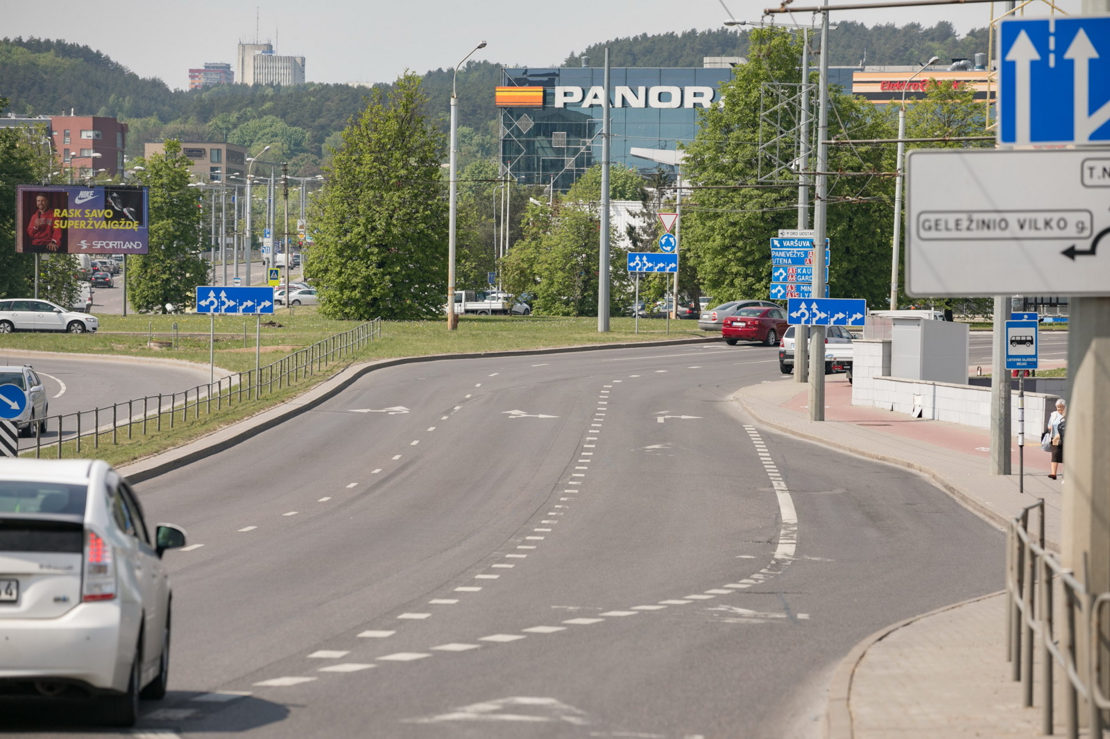 Sostinė pradeda  T. Narbuto-Saltoniškių gatvių lietaus nuotekų rekonstrukciją
