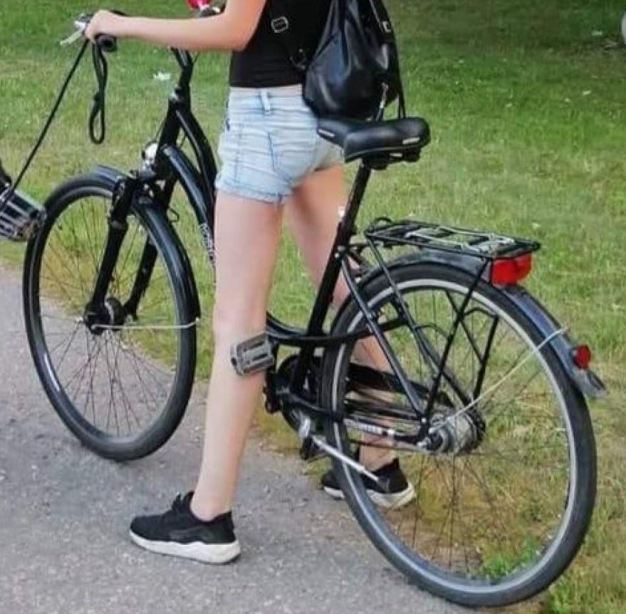 Alytuje pavogtas dviratis