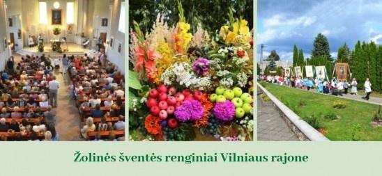 Kviečia į Žolinės šventės renginius Vilniaus rajone