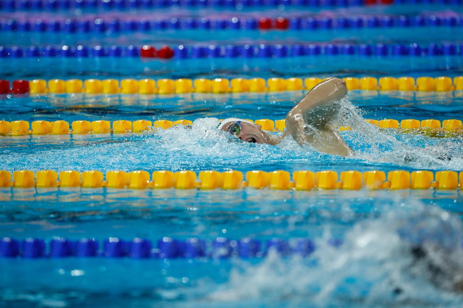 Plaukikas D. Rapšys Singapūre iškovojo auksą, A. Šidlauskas – bronzą