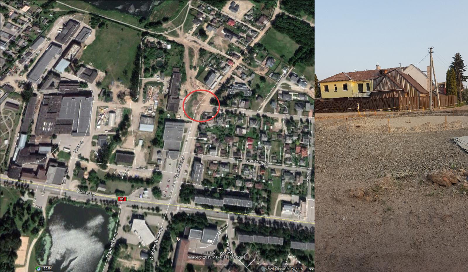 Dar vienas žiedas Šiaulių mieste