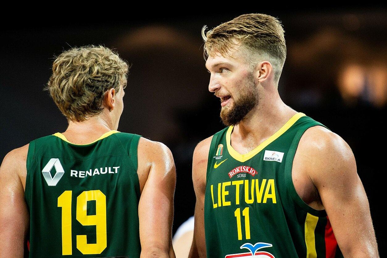 Lietuvos krepšininkai nugalėjo rusus