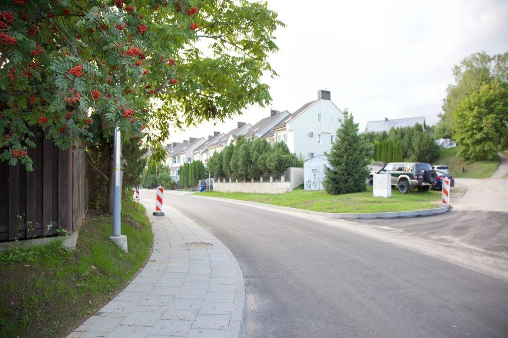 Atnaujinta sostinės Noragiškių gatvė