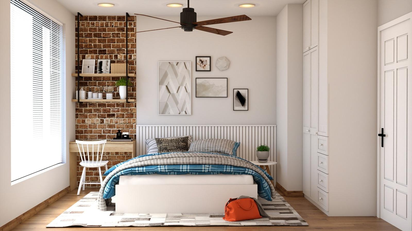 Minimalizmas miegamajame: kaip tai įgyvendinti?
