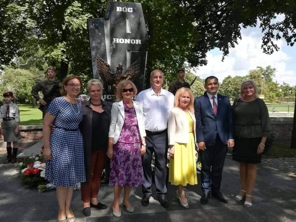 Švenčionių rajono savivaldybės atstovai dalyvavo Vengrovo miesto šventėje