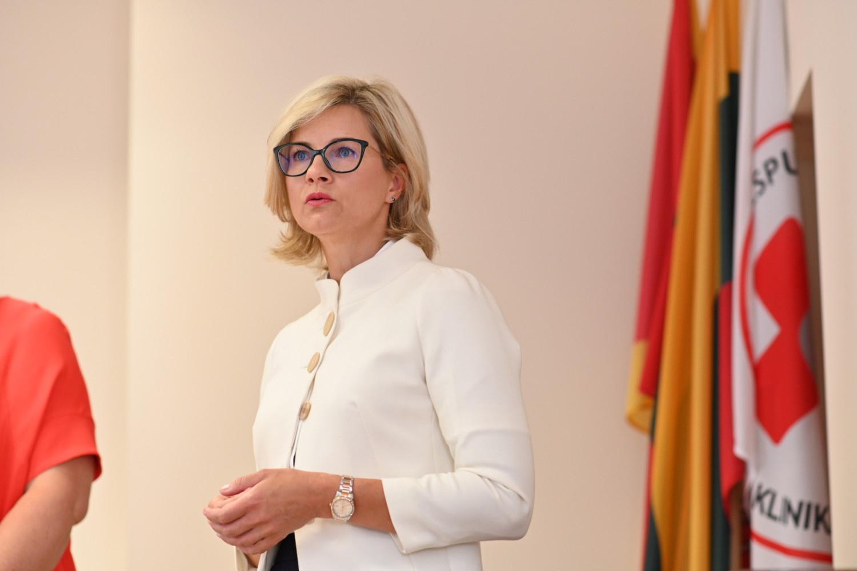 Darbą pradėjo naujoji Respublikinės Kauno ligoninės vadovė D. Žaliaduonytė