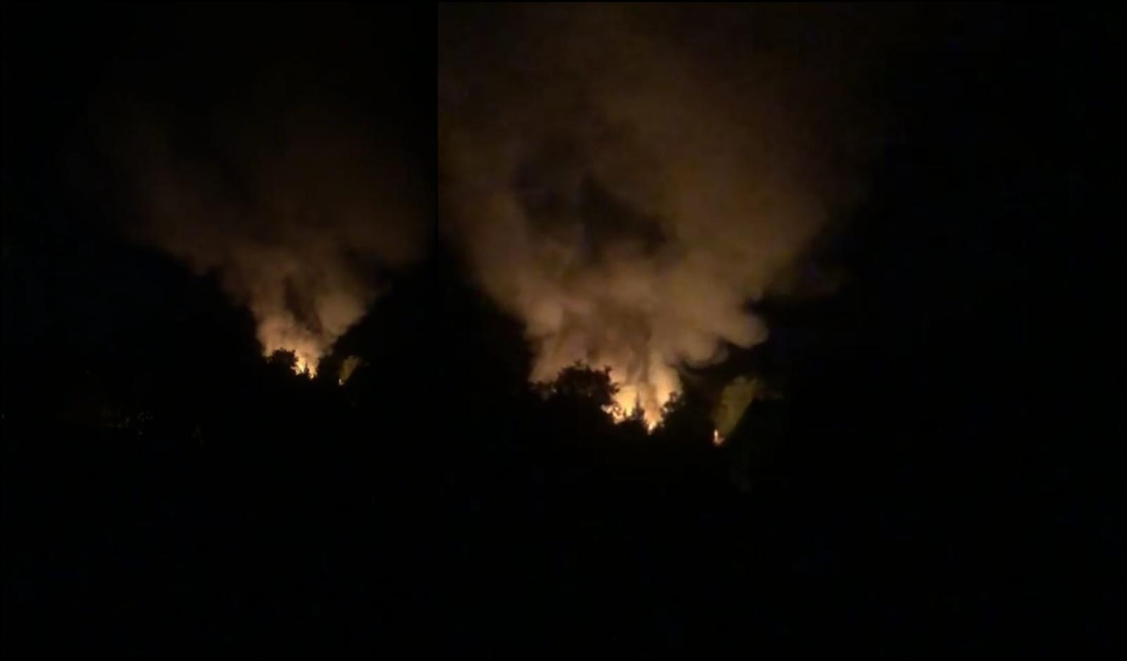 Po vidurnakčio – didžiulis gaisras Šiauliuose