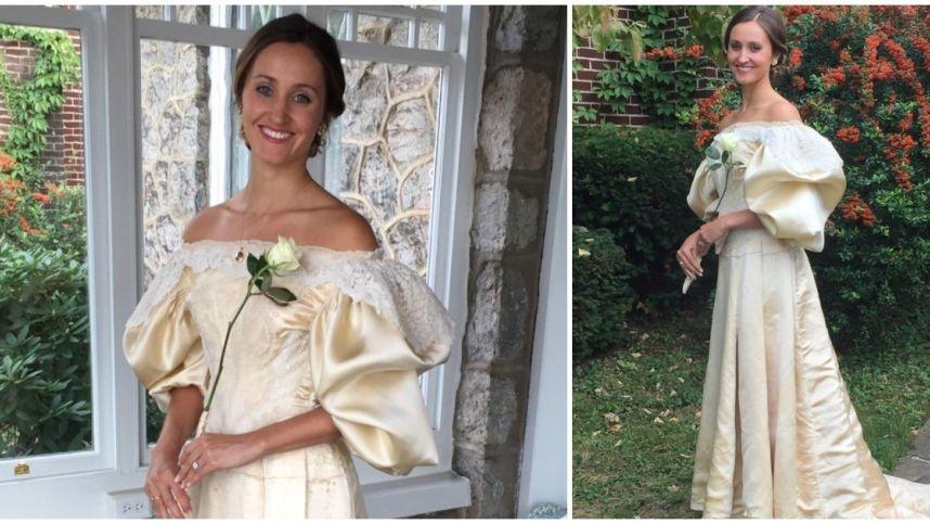 Per vestuves nuotaka pasipuošė prieš 120 metų sukurta suknele: ją vilkėjo jau 11 šeimos moterų
