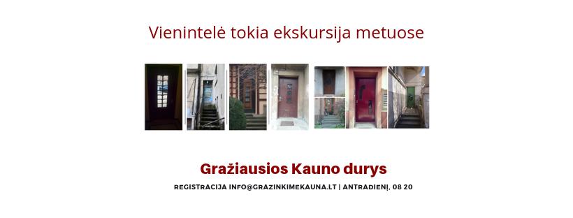 Kaune – ekskursija apžvelgiant gražiausias mieste... duris