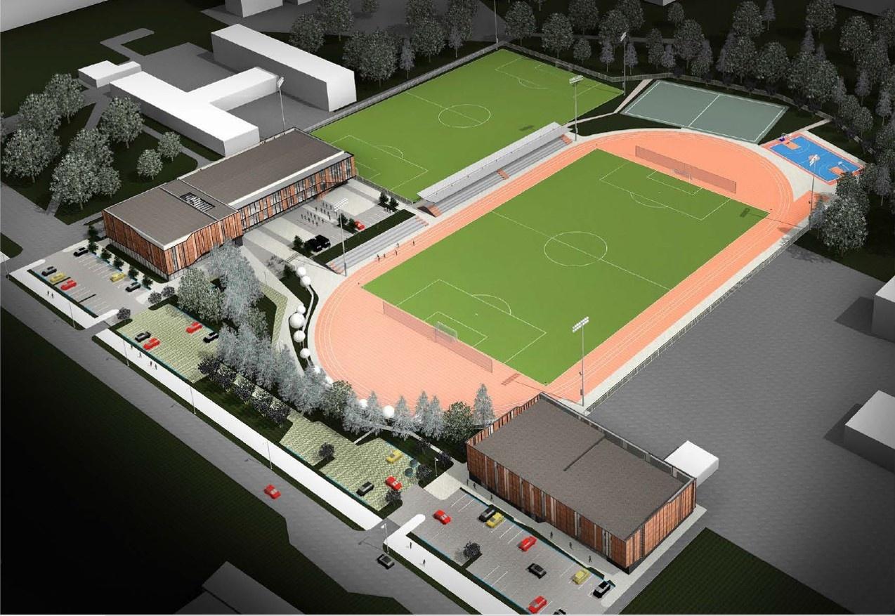Statomoje futbolo mokykloje – kapsulė ateities kartoms